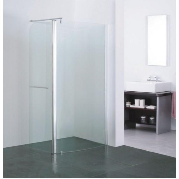 Стъклена преграда с отваряема врата 100см BR-7003 BR-7003