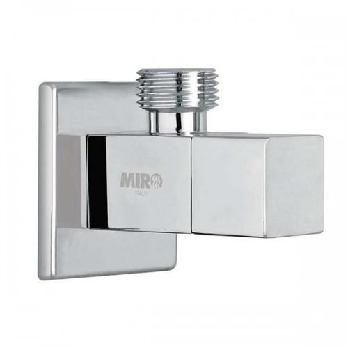 "MIRO AV09 квадратен ъглов спирателен кран ""1/2"" x ""1/2"""