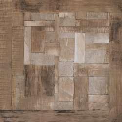 Матиран Plato с камъни и дърво 45x45 см
