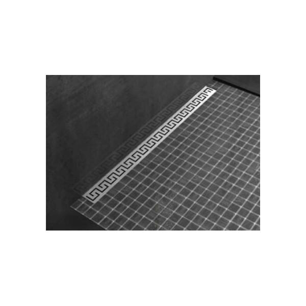 Плитък линеен сифон Greka 800x65 - хидроизолационен фланец evi_greka_80