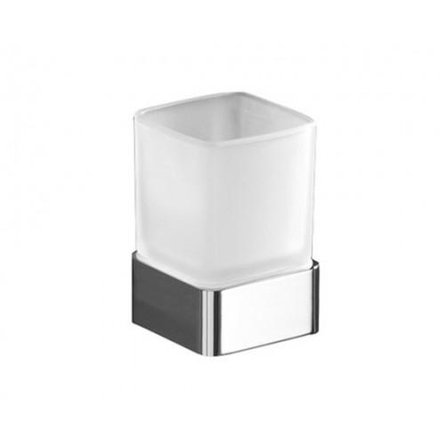 Gedy Lounge стояща чаша за четки за зъби хром