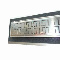 Сифон Inox Style двойно версаче 1085x80 - хидроизолационен фланец