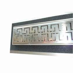 Сифон Inox Style двойно версаче 1185x80 - хидроизолационен фланец