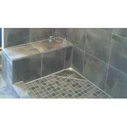 Ъглов сифон за баня Inox Style кръгове 200x200 2
