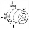 Ideal Standard вграден четирипътен разпределител вътрешна част