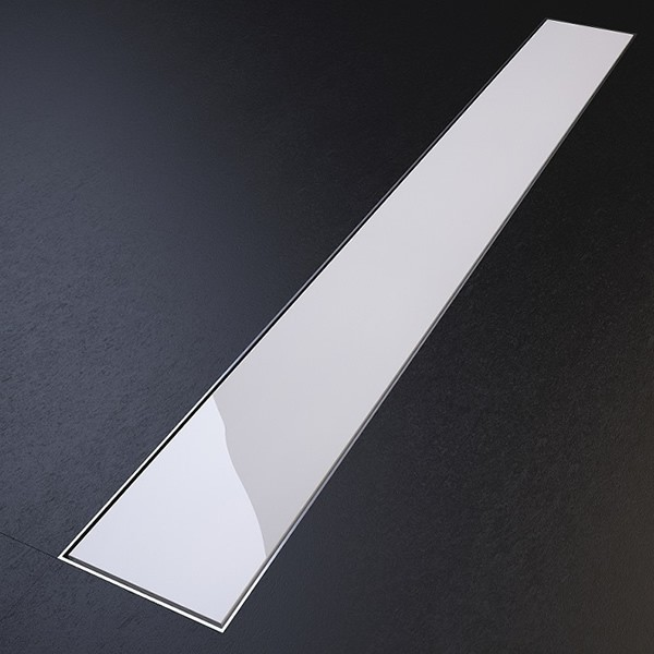 Smart Care Glass 585x75 бял sm glass white 585