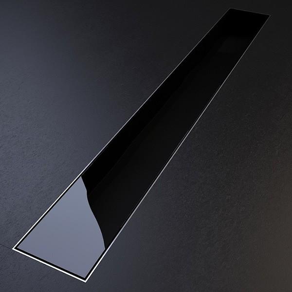 Smart Care Glass 585x75 черен sm glass black 585