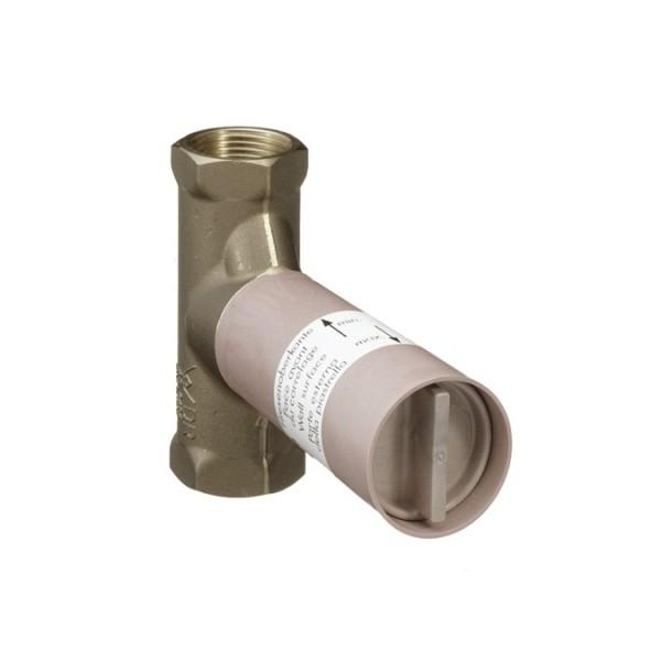 Hansgrohe Basic set тяло за вграждане спирателен кран 80л/мин 15973180