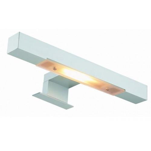Квадратен аплик с две лампи - изчистен дизайн 30см