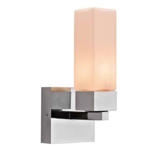 Квадратен аплик с една лампа за баня icl_69