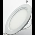 Кръгъл LED плафон за вграждане Ø162