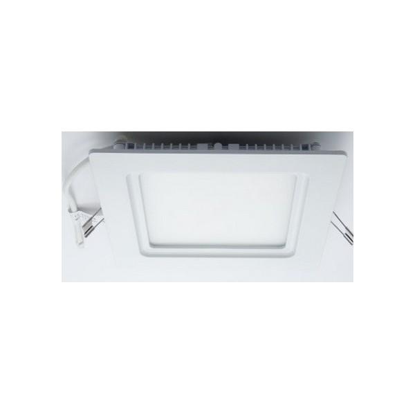 Квадратен LED плафон за вграждане 17х17см max_O-P1717-NW