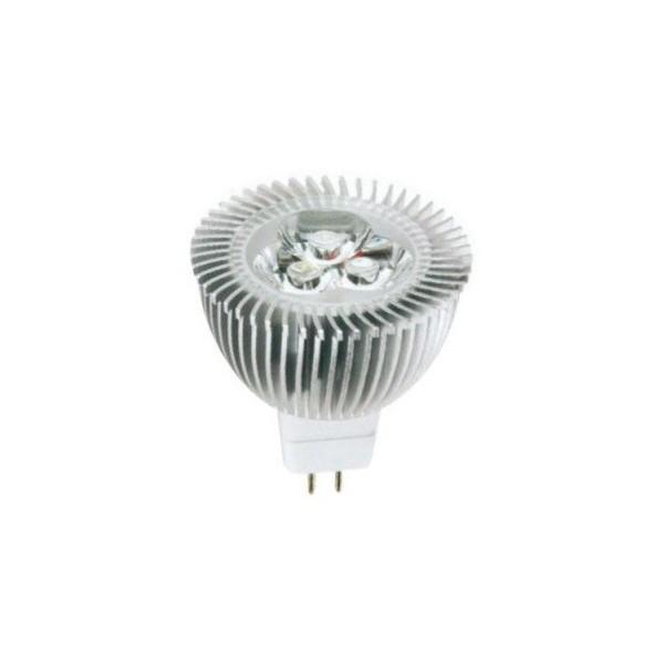 LED крушка за луничка 4W GU5.3 12V 3000К MR16-3X1-WW-CH