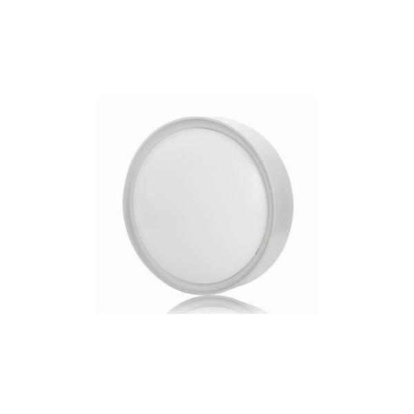 Кръгъл плафон за външен монтаж бял 34см max_oc-340-nw