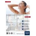 Промо комплект Grohtherm 800 за душ и тръбно окачване