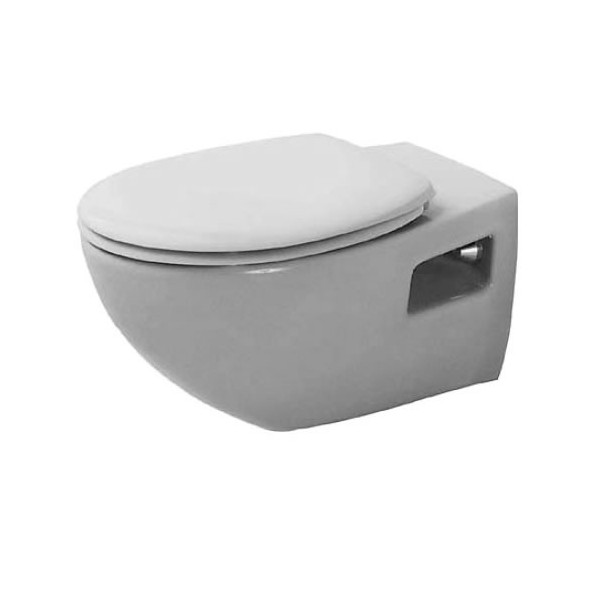Duravit Duraplus Colomba висяща WC с биде и капак с плавно падане 2547390075+0067810000