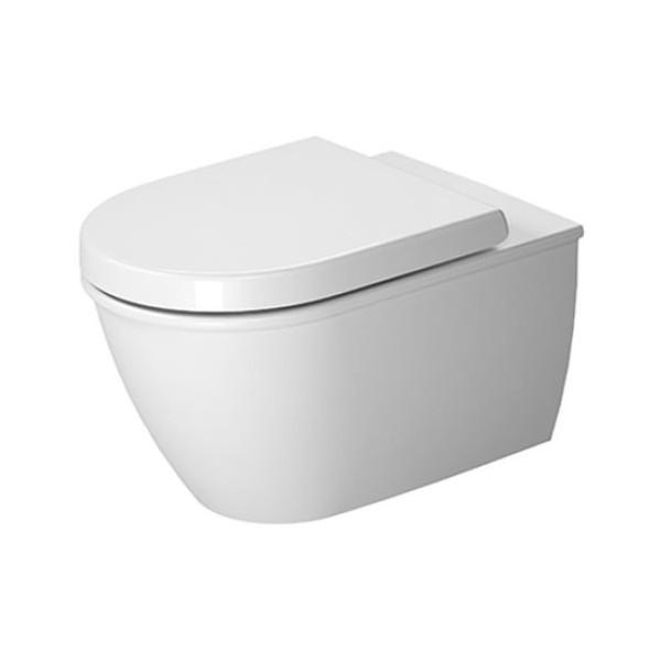 Duravit New Darling висяща WC с капак с плавно падане 2545090000+0069890000