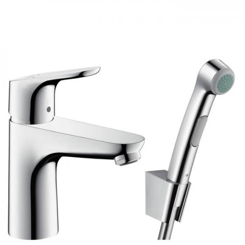 Hansgrohe Focus 100 смесител за мивка с подвижен душ