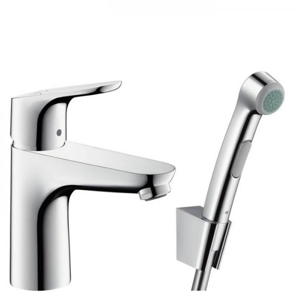 Hansgrohe Focus 100 смесител за мивка с подвижен душ 31927000