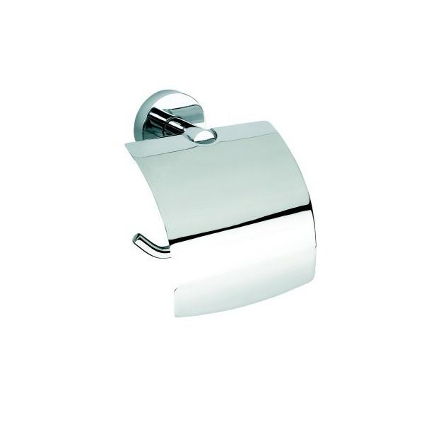 Bemeta Omega държач за тоалетна хартия с капак economy 104112012