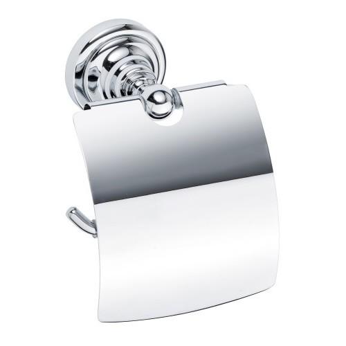 Bemeta Retro хром държач за тоалетна хартия с капак