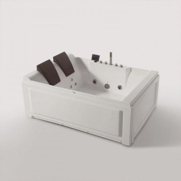 Двойна вана с хидро и аеромасаж MY1590 184x130см MY 1590
