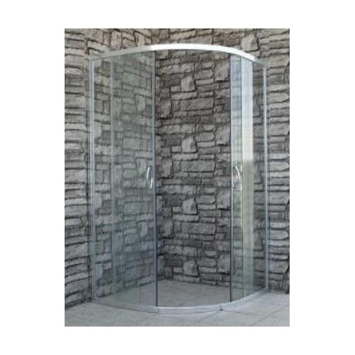 Кабина 90х90 без корито прозрачно стъкло