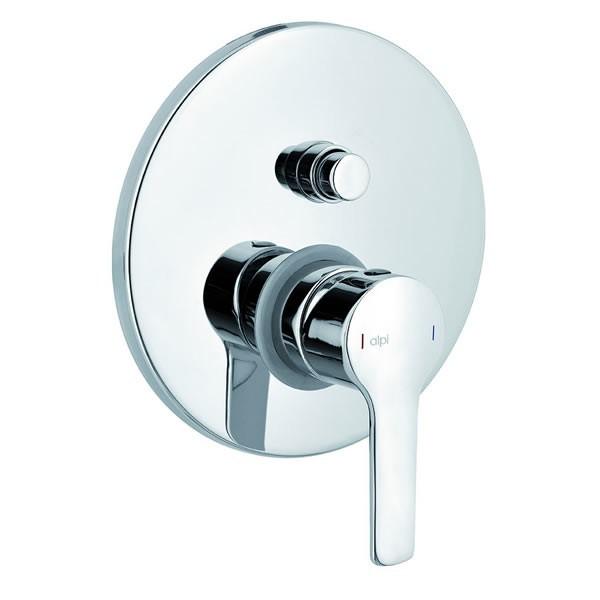Alpi Premiere смесител за вграждане за вана/душ PM82863CR