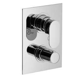 Alpi Glam термостатен смесител за вграждане с 5 изхода