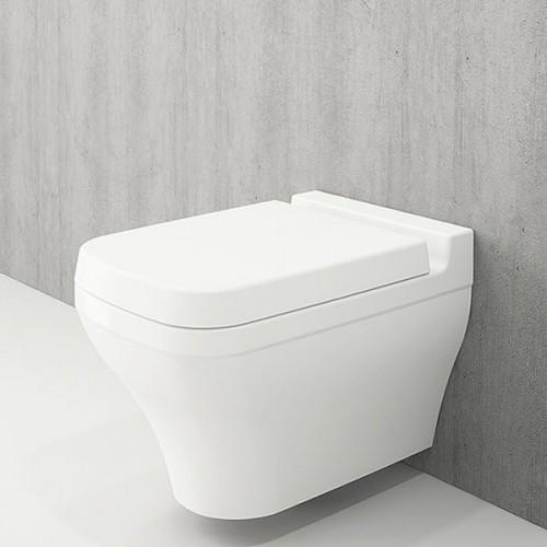 Bocchi Scala Arch конзолна WC с биде бял гланц