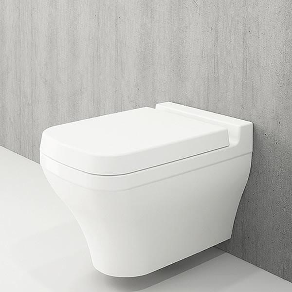 Bocchi Scala Arch конзолна WC с биде бял гланц 1080 001 0128 + A0322 001