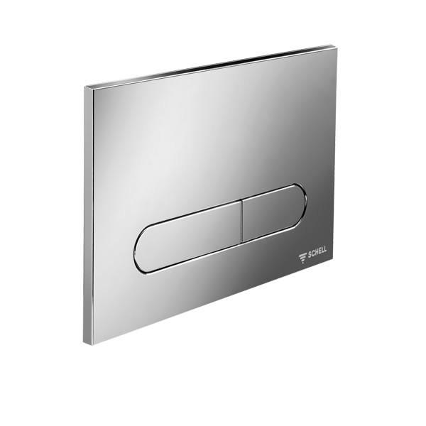 Schell Linear Round активатор за WC хром лъскав 030680699