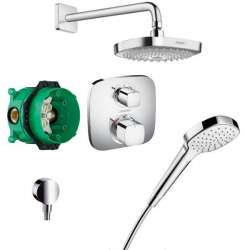 Hansgrohe Design Shower Set Select E система с термостат 27294000