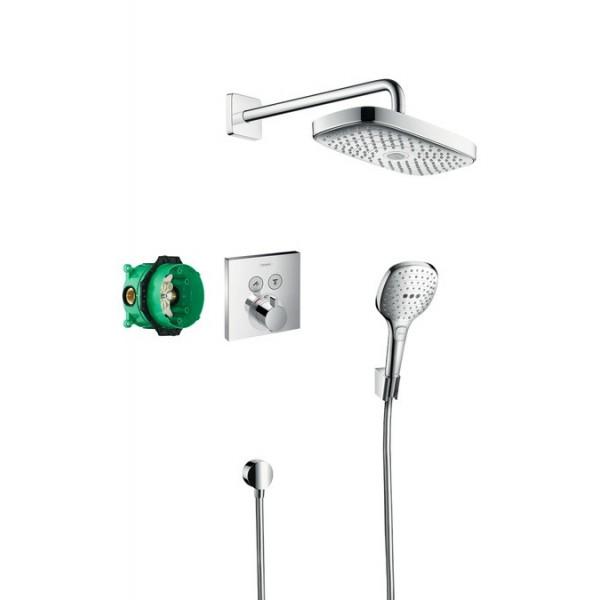 Hansgrohe Design ShowerSet Raindance Select E система с термостат 27296000