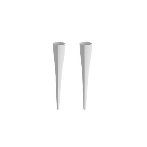 Bocchi Lavita комплект крака за мивка 2 броя бял гланц 1169 001 0320