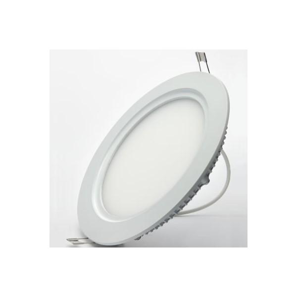 LED кръгъл панел за вграждане 26W 245mm с адаптер O-P0225-NW-IP44