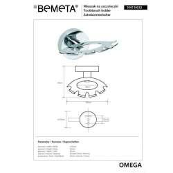 Окачалка за четки за зъби Omega 2