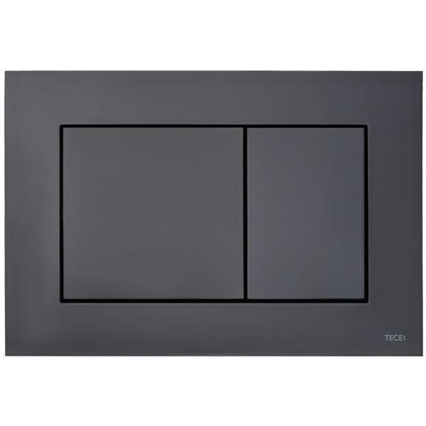 TECE now черен гланц бутон за WC 9240403