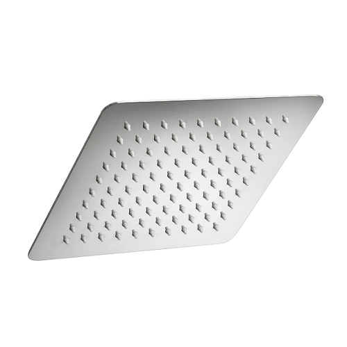 Ponsi квадратна душ пита неръждаема стомана 250 мм