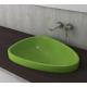 Bocchi Etna 58см за полувграждане в плот зелен гланц без пробит отвор за смесител 1 1112 022 0125