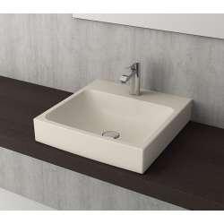 Bocchi Scala Arch 48см умивалник върху плот жасмин мат 1076 007 0126
