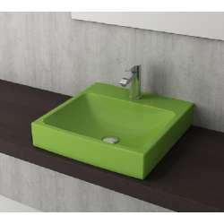 Bocchi Scala Arch 48см умивалник върху плот зелен гланц 1076 022 0126