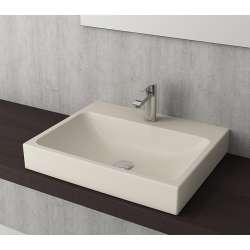 Bocchi Scala Arch 60см умивалник върху плот жасмин мат 1077 007 0126