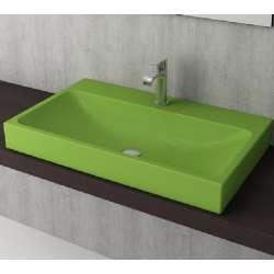 Bocchi Scala Arch 80см умивалник върху плот зелен гланц 1078 022 0126