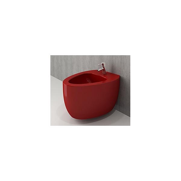 Bocchi Etna конзолно биде червен гланц 1117 019 0120
