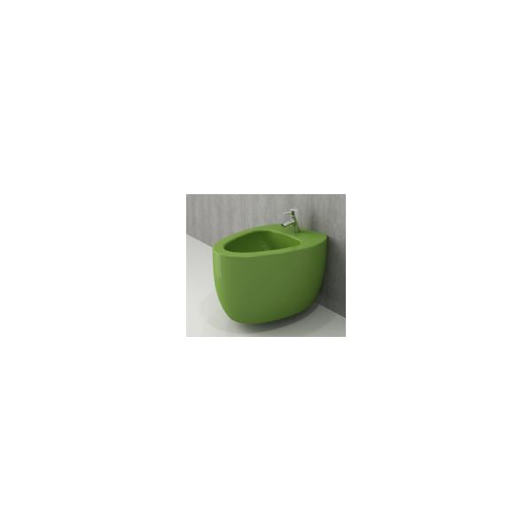 Bocchi Etna конзолно биде зелен гланц 1117 022 0120