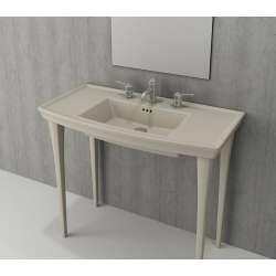 Bocchi Lavita 100см жасмин мат мивка с плот с 3 пробити отвора за смесител 1168 007 0127