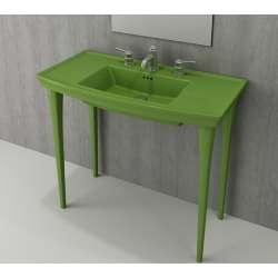 Bocchi Lavita 100см зелен гланц мивка с плот с 3 пробити отвора за смесител 1168 022 0127