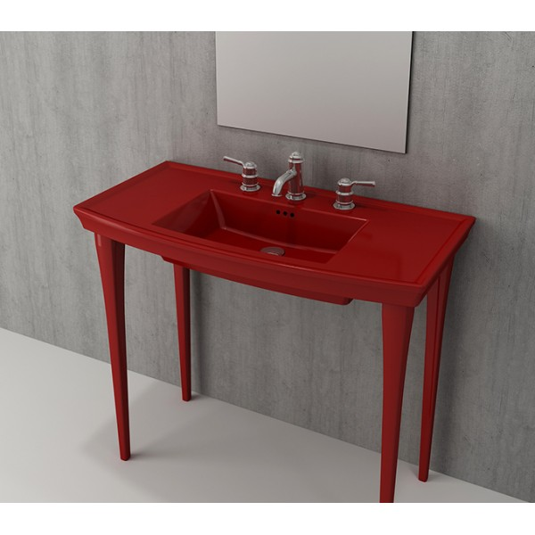 Bocchi Lavita комплект крака за мивка 2 броя червен гланц 1169 019 0320