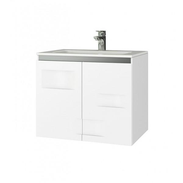 Долен шкаф Triano Light с мивка и две вратички 65см dolen_triano_light